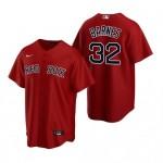 Men's Boston Red Sox #32 Matt Barnes Red Alternate 2020 Cool Base Jersey