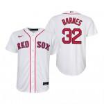 Men's Boston Red Sox #32 Matt Barnes White Home 2020 Cool Base Jersey