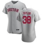 Men's Boston Red Sox #38 Josh Taylor Nike Gray Road 2020 Authentic Team MLB Jersey