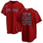 Men's Boston Red Sox #38 Josh Taylor Red Alternate 2020 Cool Base Jersey