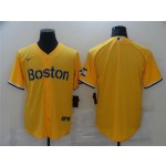 Boston Red Sox Gold 2021 City Connect Cool Base Team Jersey