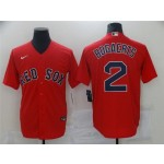 Boston Red Sox #2 Xander Bogaerts Red Cool Base Jersey