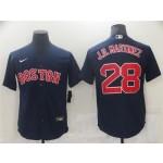 Boston Red Sox #28 J.D. Martinez Navy Cool Base Jersey