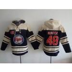 MLB Minnesota Twins #48 Torii Hunter Navy Blue All Stitched Hooded Sweatshirt