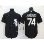 MLB Chicago White Sox #74 Eloy Jimenez Black 2020 Nike Cool Base Jersey
