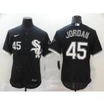 MLB Chicago White Sox #45 Michael Jordan Black 2020 Nike Flexbase Jersey