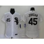 MLB Chicago White Sox #45 Michael Jordan White 2020 Nike Flexbase Jersey