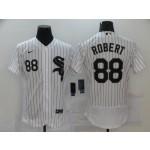 MLB Chicago White Sox #88 Luis Robert White 2020 Nike Flexbase Jersey