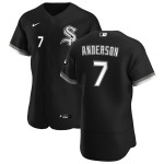 Men's Chicago White Sox #7 Tim Anderson Nike Black Alternate 2020 Authentic Player MLB Jersey