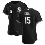Men's Chicago White Sox #15 Adam Engel Nike Black Alternate 2020 Authentic Player MLB Jersey