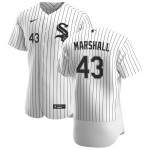 Men's Chicago White Sox #43 Evan Marshall Nike White Home 2020 Authentic Player MLB Jersey