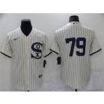 Chicago White Sox #79 Jose Abreu White 2021 Field of Dreams Cool Base Jersey