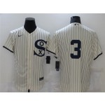 Chicago White Sox #3 Harold Baines White 2021 Field of Dreams Cool Base Jersey
