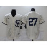 Chicago White Sox #27 Lucas Giolito White 2021 Field of Dreams Cool Base Jersey