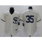 Chicago White Sox #35 Frank Thomas White 2021 Field of Dreams Cool Base Jersey