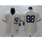 Chicago White Sox #88 Luis Robert White 2021 Field of Dreams Cool Base Jersey