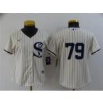 Women's Chicago White Sox #79 Jose Abreu White 2021 Field of Dreams Cool Base Jersey