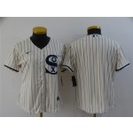 Women's Chicago White Sox Blank White 2021 Field of Dreams Cool Base Team Jersey