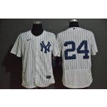 MLB New York Yankees #24 Gary Sanchez White 2020 Nike Flexbase Jersey