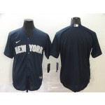 MLB New York Yankees Blank Navy 2020 Nike Cool Base Jersey