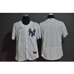 MLB New York Yankees Blank White 2020 Nike Flexbase Jersey