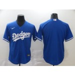MLB Los Angeles Dodgers Blank Royal blue 2020 Nike Cool Base Jersey