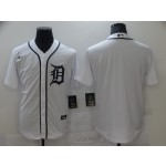 Nike Men's Detroit Tigers White blank 2020 Authentic Official Team MLB Jersey