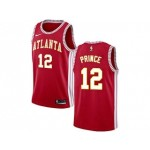 Nike Hawks #12 Taurean Prince Red NBA Swingman Statement Edition Jersey