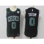 Celtics #0 Jayson Tatum Black Nike Jersey