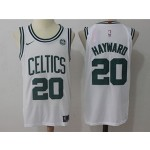 Celtics #20 Gordon Hayward White Nike Jersey