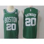 Celtics #20 Gordon Hayward Green Nike Jersey