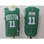 Celtics #11 Kyrie Irving Green Swingman Jersey