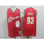 Cavaliers #93 Bape Red 2003-04 Hardwood Classics Jersey