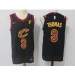 Cavaliers #3 Isaiah Thomas Black Nike Jersey