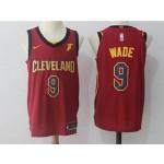 Cavaliers #9 Dwyane Wade Maroon Nike Jersey