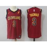 Cavaliers #3 Isaiah Thomas Red Nike Jersey