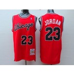 Bulls #23 Michael Jordan Red 1984-85 Hardwood Classics Jersey