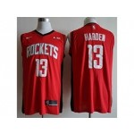 Rockets #13 James Harden Red Basketball Swingman Limited Edition Jersey