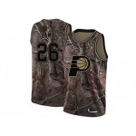 Nike Pacers #26 Jeremy Lamb Camo NBA Swingman Realtree