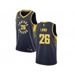 Nike Pacers #26 Jeremy Lamb Navy Blue NBA Swingman Icon Edition