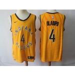 Pacers #4 Victor Oladipo Gold Nike Swingman Jersey