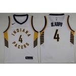 Pacers #4 Victor Oladipo White Nike Swingman Jersey