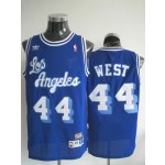 NBA Throwback Los Angeles Clippers west #44 blue Jersey