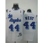 NBA Throwback Los Angeles Clippers west #44 white Jersey