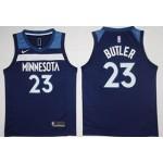 NBA Minnesota Timberwolves Butler #23 Blue Nike Jersey