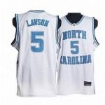 NBA North Carolina Paige #5 White Jersey
