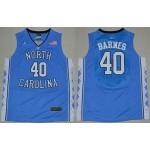NBA North Carolina Barnes #40 sky blue Jersey