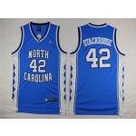 NBA North Carolina Stackhouse #42 sky blue Jersey