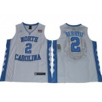 NBA North Carolina Joel Berry II #2 White Jersey