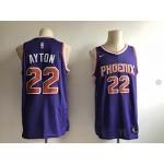 Suns Ayton #22 Purple Nike Jersey